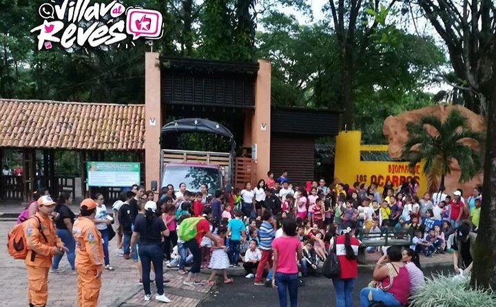 Ninos Ninas Y Adolescentes De Puerto Gaitan Del Programa Protegeme Visitaron Parques De Villavicencio Villavo Alreves
