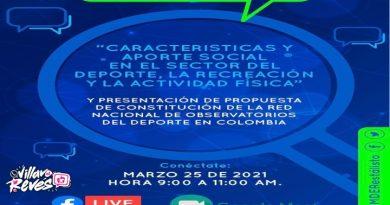 El próximo 25 de marzo se llevará a cabo el conversatorio virtual de la red de observatorios nacionales