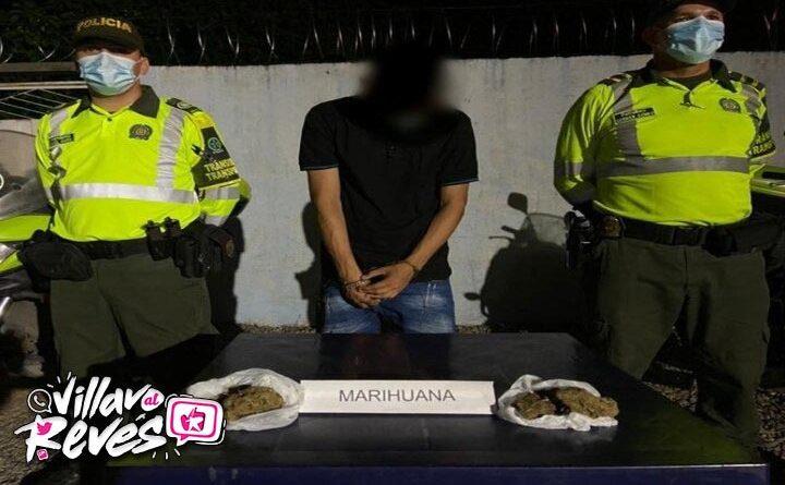 Capturado transportando 200 gramos de marihuana en la vía a Granada