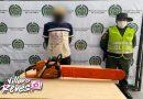Por talar árboles en el municipio de Granada fue capturado