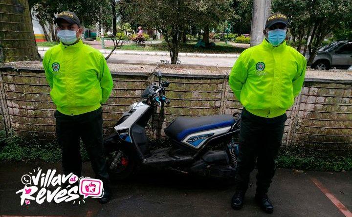 Motocicleta que había sido hurtada fue recuperada en Mesetas (Meta)