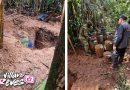 13 canecas con material explosivo fueron halladas en el municipio de Puerto Concordia