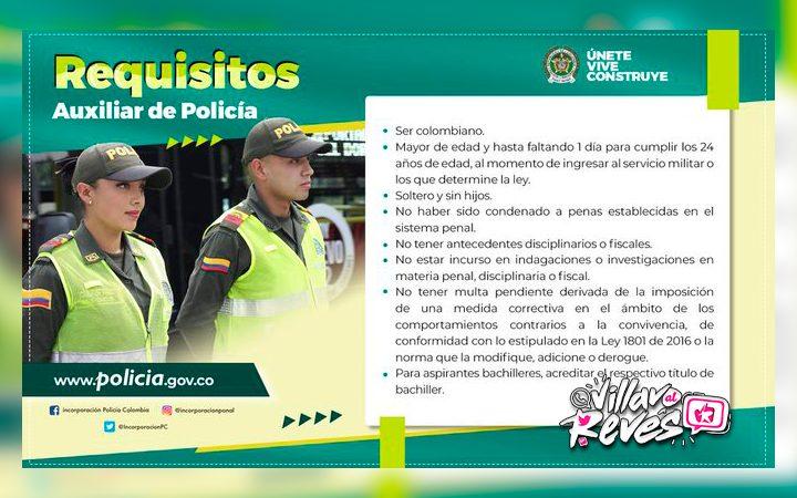 Convocatorias en la Policía Nacional para prestar el servicio militar en Villavicencio - Noticias de Colombia