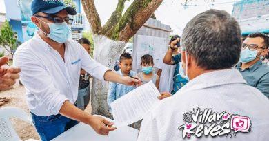 Legalización del barrio Portales de Covisán benefició a alrededor de 250 familias