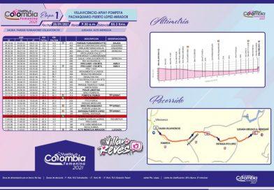 Hoy martes, cierre vial en la vía Villavicencio – Puerto López por la Vuelta a Colombia Femenina 2021