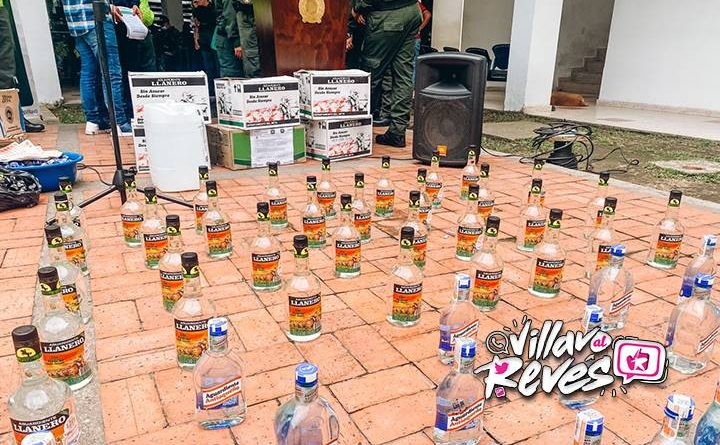 """Desarticulada banda """"Los Chirrinches"""" dedicada al contrabando y venta de licor adulterado en el Meta"""