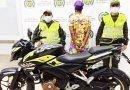 Fue capturado en Cumaral conduciendo una motocicleta hurtada