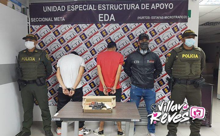 """Alias """"Tucan"""" y acompañante fueron capturados en el barrio Villas de Paz"""